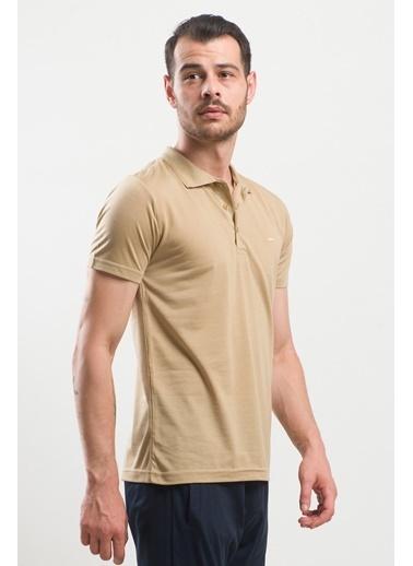 Slazenger Slazenger SPIRIT Erkek T-Shirt Hardal Renkli